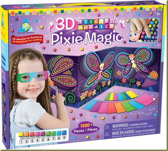 62989 3D Pixie Magic