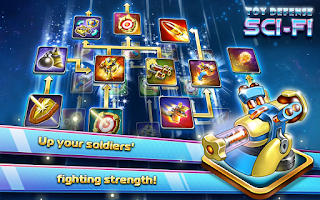 Screenshot of Toy Defense 4: Sci-Fi Strategy