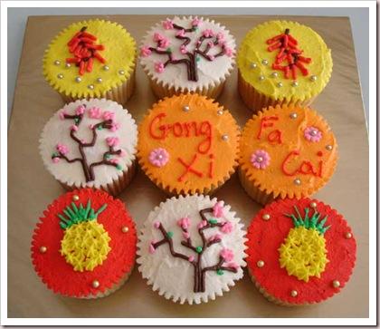 Gong-Xi-Fa-Cai-Cupcakes