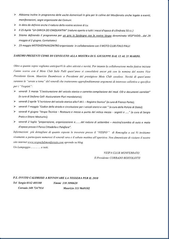 seconda pagina