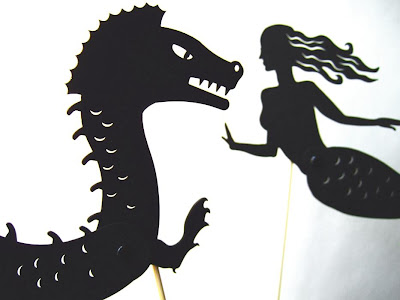 Andrea Everman - shadow puppets