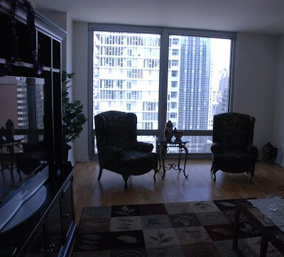 Chicago Condo Rental - Living Room