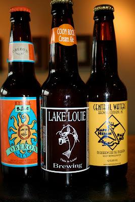 pause coffeeshop, Wisconsin Dells  - beer