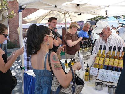 Millbrae Art & Wine Festival - olive oil