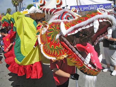 Millbrae Art Festival - Dragon Dance