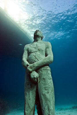 Jason deCaires Taylor- Man on Fire