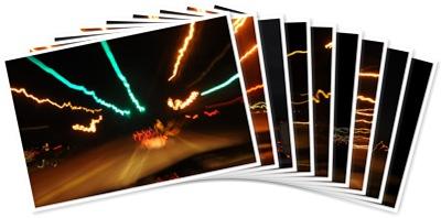 View Freeway Light Trails