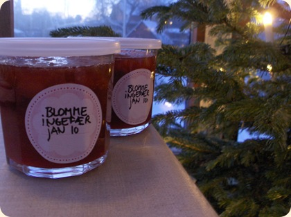 Blomme-ingefær-marmelade