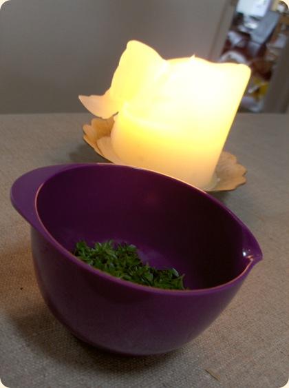 Miniature med persilledrys
