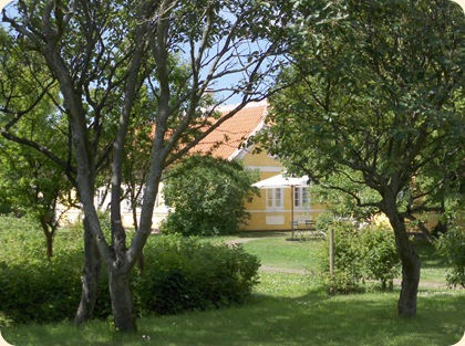 Saxilds Gaard ved Michael og Anna Anchers Hus