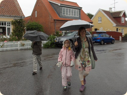 Skagen i regn