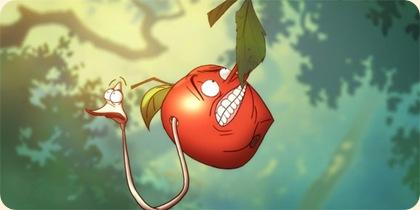 Æblet og Ormen