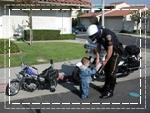 ตำรวจจับเด็ก