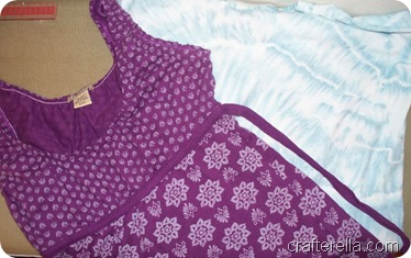 sienna dress fabrics before