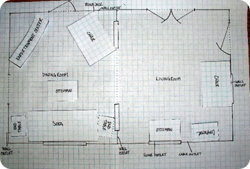 graph paper floor plan 2