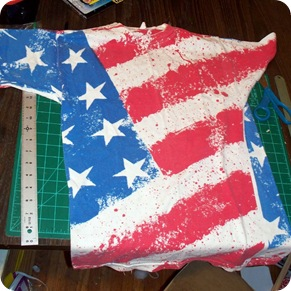 flag shirt before