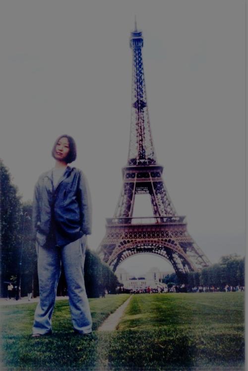 巴黎.埃菲尔铁塔.留张影.ps