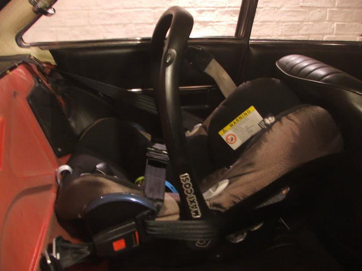 Adjusting Clip On Maxi Cosi Car Seat