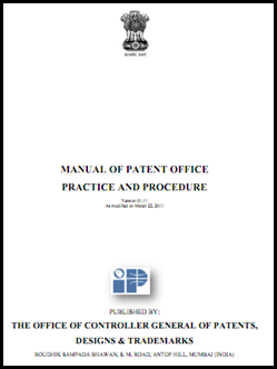 India: Manual of Patent Practice and Procedure released