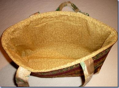 Helen's bag inside