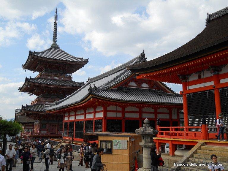 Pagode du Kiyomizu-dera