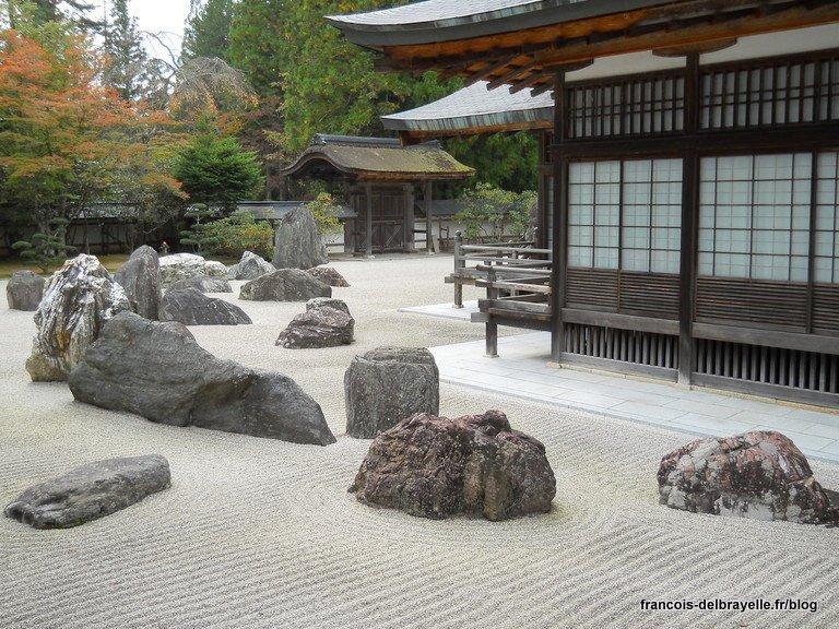 Jardin sec du Kongôbu-ji