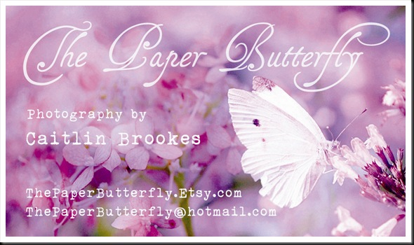 Business Card Violet