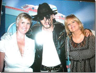 Michael Jackson look alike and us! 001