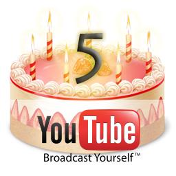 YouTube 5 Jahre!