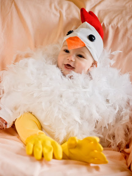 DIY Chicken Costume by Jessica Kesterson