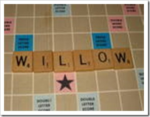 scrabble willow