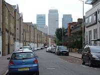 Canary Wharf from Rotherhithe Street