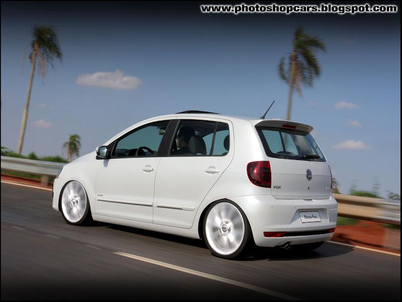 Novo Volkswagen Fox 2010 rebaixado tuning
