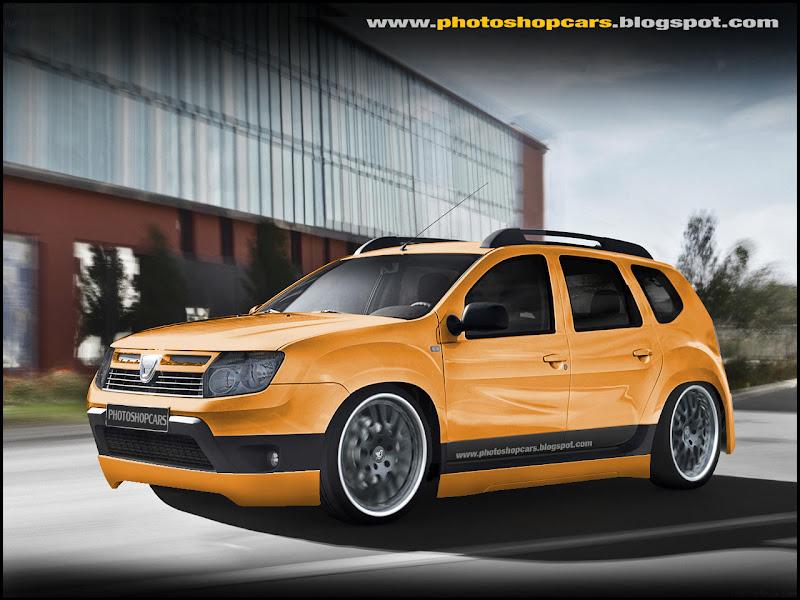 Novo Dacia Duster tuning e dub