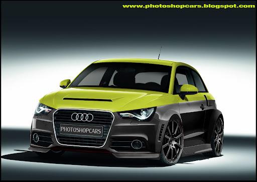 Novo Audi A1 2011 tuning, rebaixado e virtual tuning