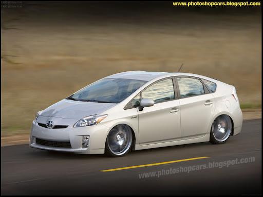 Toyota Prius rebaixado tuning