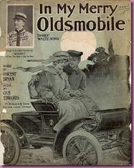 merry oldsmobile sheet music