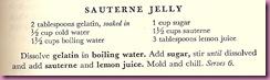 sauterene sauce recipe