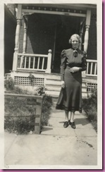 1935 woman porch
