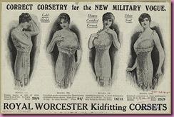 1915 corset