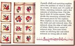 napkintableclothpattern