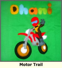 sepeda motor, trail