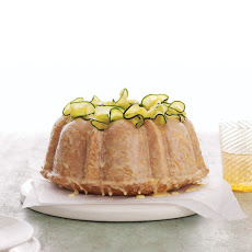 Zucchini Bundt Cake with Orange Glaze