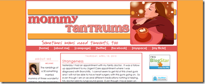 Mommy Tantrums