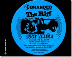 Just Water - The Riff - Inlay