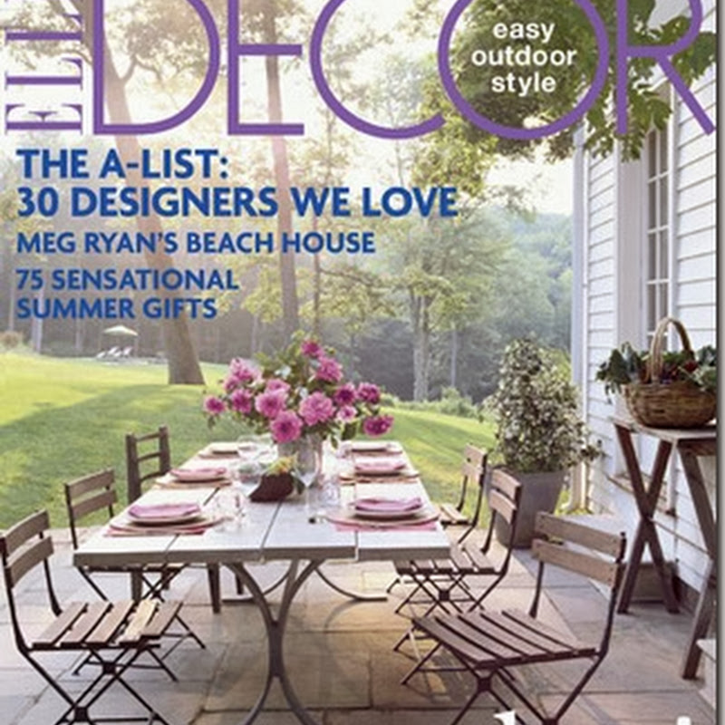 Meg Ryan's Beach House in Elle Decor