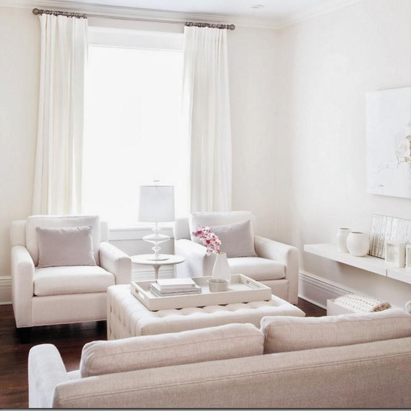 Small Spaces: Pretty in White