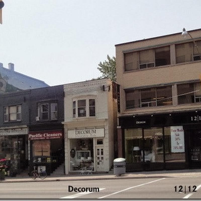 Retail Inspiration in Toronto