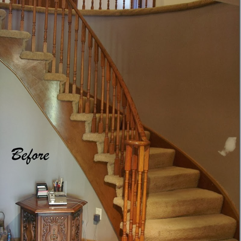 Work in Progress Wednesday: Updating Stairs