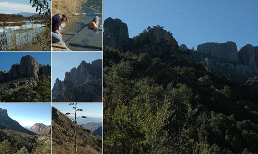 View Big Bend - Hiking highlights